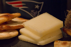 Goat Cheese! (brucetopher) Tags: macromondays macromonday cheese goat cheddar slice sliced crackers patriots newenglandpatriots newengland saycheese cheeseandcrackers macro food beer logo football americanfootball american cracker sometimessavory tombrady tom brady