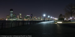 Hudson River Night View (20170115-DSC01801) (Michael.Lee.Pics.NYC) Tags: newyork newjersey jerseycity lowermanhattan hudsonriver robertwagnerjrpark piera batterypark promenade esplanade architecture cityscape night longexposure sony a7rm2 fe1635mmf4