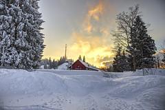 Pfänder Alm Austria (Klaus Ficker --Landscape and Nature Photographer--) Tags: pfänder alm alpen austria snow sunset clouds cold schnee kentuckyphotography klausficker canon eos5dmarkiv