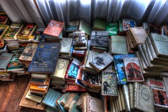 Le serment de Daalia (urban requiem) Tags: livres books book piles pilesdelivres urbex urban exploration urbanexploration urbanrequiem verlaten verlassen abandonné abandoned lost old decay derelict hdr 600d 816 sigma france manor manoir tipo tipografico tipographico manoirtipografico