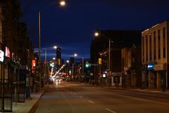 Bloor Street (hogtown_blues) Tags: toronto ontario canada dufferinbloor bloorstreet bloorstreetwest dufferingroveneighbourhood bloorcourtvillage bloorcourt night dawn earlymorning afterdark