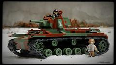 COBI Soviet heavy tank KV-1 (Kobikowski) Tags: cobi lego tank soviet czołg sowiecki rosyjski russian heavy model toy zabawka