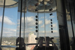 Abandoned OTIS Scenic elevator at the Lamar Building (DieselDucy) Tags: ascenseur ascensor ascensore augusta elevatorbutton ga georgia lamar lamarbuilding lift lyfta lyftu otis personenaufzug