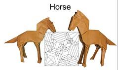 Horse (Mdanger217) Tags: max danger origami horse design cp inkscape