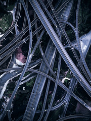 重庆盘龙立交桥 (L-E-N-G) Tags: china city chongqing scene impressed life travel tower traffic gettyimages bridge dji