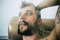 (lu★) Tags: boy smoking morocco tanger portrait lifestyle tattoo tattoos