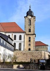 Christuskirche church reflections (:Linda:) Tags: germany thuringia town hildburghausen townwall church christuskirche