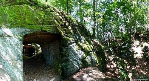 Příhrazské skály - Hynsta (Einsiedelei Hynsta in den Pschichraser Felsen)
