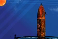 "climbing up the ""PH2"" - HMM (zdm69) Tags: hmm mm macromondays bit werkzeug macro nahaufnahme blau blue orange bergsteiger freeclimbing raynox dcr250 olympus omd em1 kreuzschlitz rost patina vintage rusty flickrfriday synekdoche flfrok surreal abstract 7dwf"