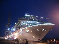 Da prua verso poppa (luca.candini) Tags: cruise ship princess nave crown fvg vacanza crociera monfalcone crownprincess fincantieri innaugurazione