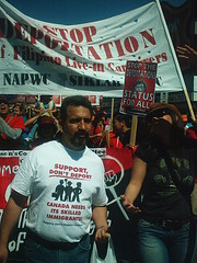 No One Is Illegal  National Day of Action - Toronto March, Saturday May 27, 2006 - 016 (HiMY SYeD / photopia) Tags: people toronto march civilrights socialjustice workersrights nooneisillegal immigrantrights