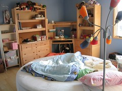 The round bed (femme_makita) Tags: house cqw