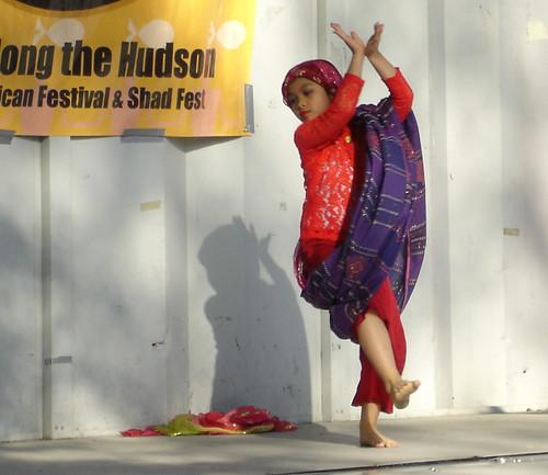 Little Muslima Dancer from Mindanao