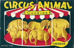 Keebler Circus Animal Cookies box