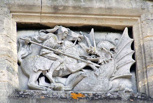 St George and the Dragon - Image by Sylvanfeather on Flickr