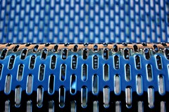 Perforations (m4r00n3d) Tags: abstract topf25 bench scotland topf50 nikon glasgow patterns nikond50 lookatme nikkor secc iwant5 perforations judgementday scoreme scoreme46 judgementday54