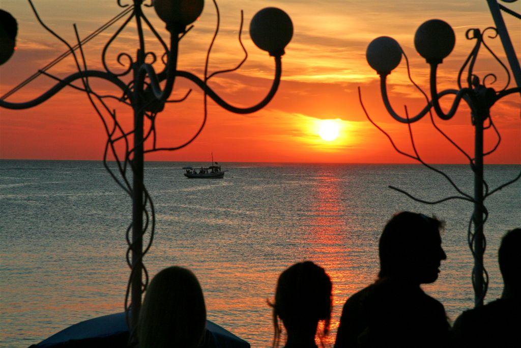 Photo des Baleares n°9. Coucher de soleil à San Antonio, Ibiza