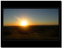 I quit (giorgio-pix) Tags: sunset sky sun tramonto minolta hills vineyards cielo sole vigne colline monferrato