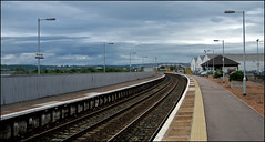 Platforms 1and 2 (ba's on the slates) Tags: scotland angus montrose