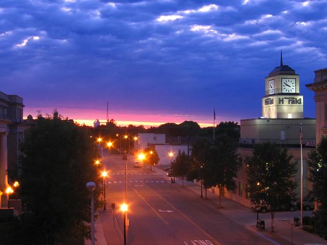 Grand Forks, N.D., skyline