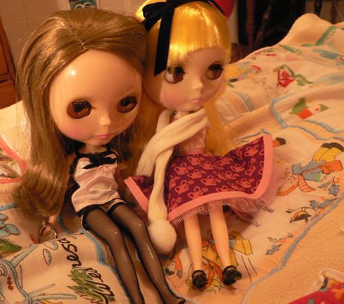 pernickety & valentina by elysiarenee