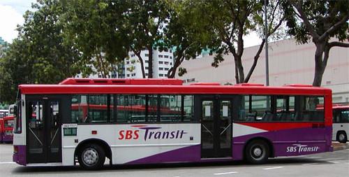 Singapore SBS Public Bus