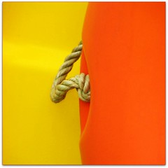 Tied colours (jurek d.) Tags: orange yellow rope 1on1 jurekd