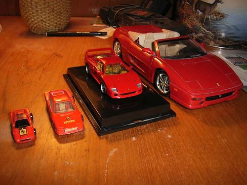 Hot Wheels Ferrari Family