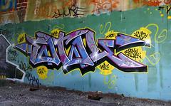 Fatal (funkandjazz) Tags: california graffiti eureka fatal bsa sts