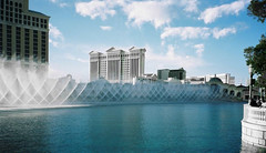 Las Vegas - The Bellagio water fountains show