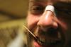 Injured but Happy (sgrazied) Tags: portrait 20d smile nose rimini toothpick sorriso ritratto bora cerotto romagna stuzzicadenti sgrazied interphoto