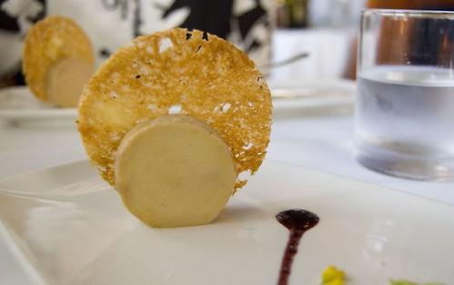 4th Course: Torchon of Foie Gras