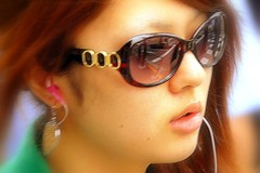 Face (manganite) Tags: street girls portrait people reflection beautiful beauty face sunglasses fashion japan tag3 taggedout modern digital geotagged asian japanese tokyo glasses cool nikon colorful asia pretty tl candid young teens style streetscene babes fancy teenager hotties earrings d200 dslr gals girlies hongo earphones stylish japanesegirl 18200mmf3556 manganite nikonstunninggallery geo:lat=35707466 geo:lon=139760771 date:year=2006 date:month=june date:day=23
