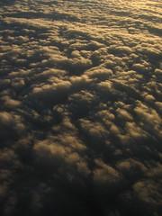 clouds at sunset (saltymargarita) Tags: nature landsape