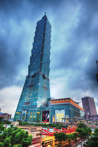 Taipei 101 (HDR) by Prince Turtle, on Flickr