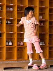 Never without a smile (bluescrubby) Tags: school cute girl japan children child alt jet explore elementary wakayama tanabe interestingness232 i500