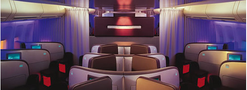 Virgin Atlantic Upper ClassSuite / Start Creative