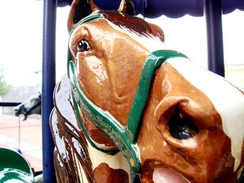 historic bound horse