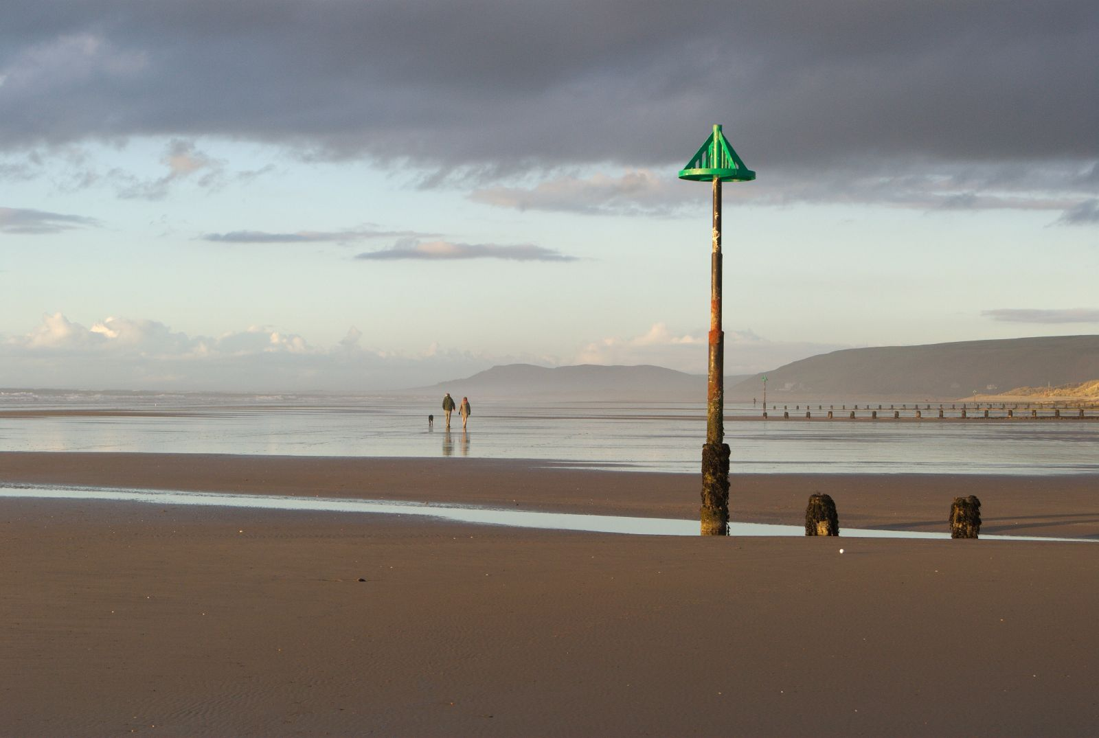 of Borth Beach to usher in