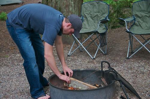 Josh Makes a Fire