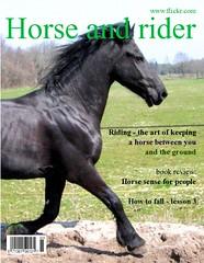 Horse and rider (Walraven) Tags: horses horse animal animals magazine fdsflickrtoys friesian frisian walraven
