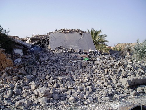 Iraq - bomb destruction