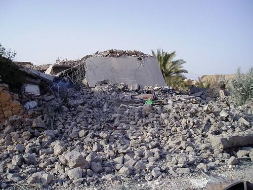 Iraq - bomb destruction