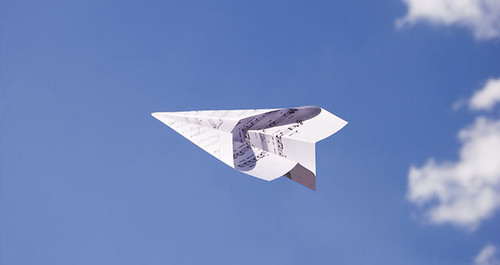 Musical Paper Plane