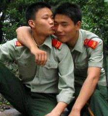 Chinese Gay Soilder Couples