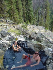 Secesh Hot Springs (joshredux) Tags: outdoors idaho peeps hotsprings secesh