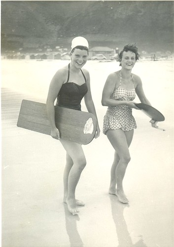 My mum the surfer!