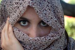 July 15: Eyes (earthdog) Tags: svphotomeetup 2006 scarf headscarf hijab falafelfan erin summervacation06 1025fav 3652006 project365 nikon nikond50 d50 vacation travel