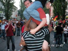 double shoulder ride (easyrider4ever) Tags: piggy back ride shoulder piggyback carry shouldersit