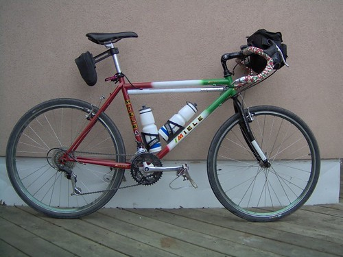 Miele Montain Bicycle converted to Cyclo-cross = 24 Gears